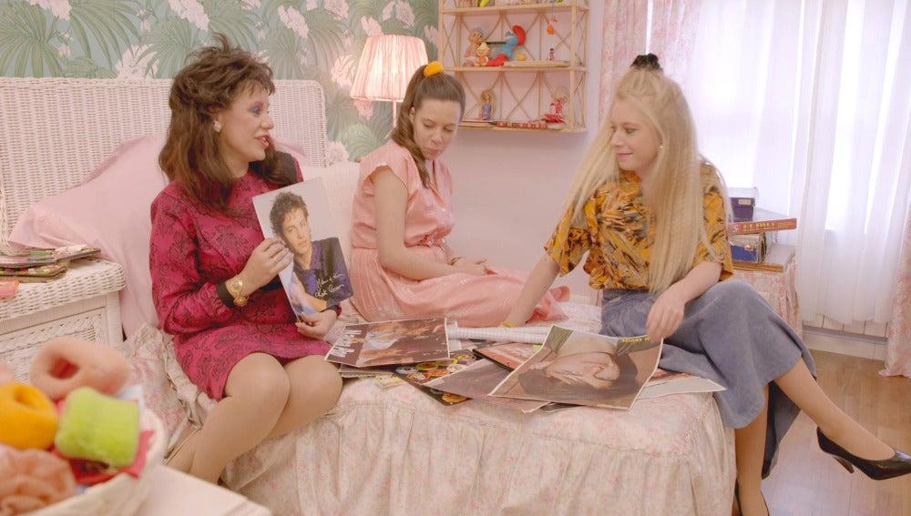 El amor platónico de Rosana en los 80 deja atónitas a sus hijas