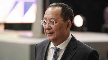 El ministro de Exteriores norcoreano, Ri Yong-ho