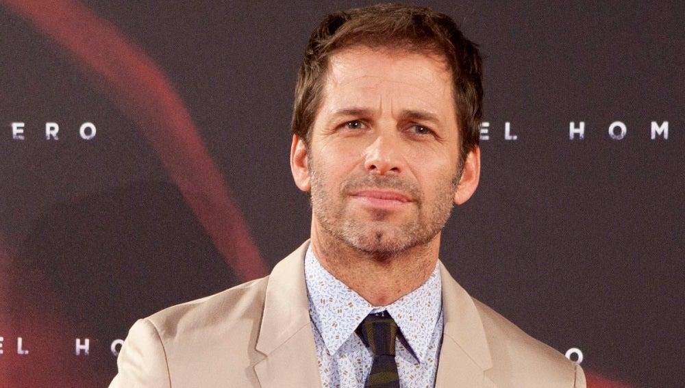 Zack Snyder presentando 'El Hombre de Acero'