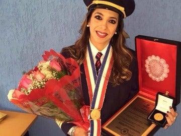 Letizia Ruiz, primera mujer piloto comercial de Paraguay
