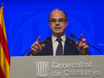 El portavoz de la Generalitat, Jordi Turull