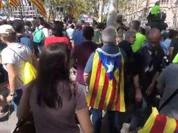 'Cataluña a pie de calle': La dificultad de informar