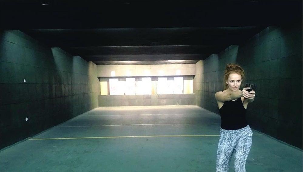 El primer día de Cristina Castaño como boina verde en 'Cuerpo de Élite'
