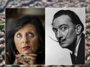 Pilar Abel y Salvador Dalí