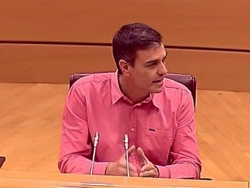 Sánchez advierte a Podemos de que su posición puede ser la coartada del independentismo para declarar unilateralmente la independencia