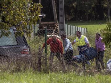Dos personas mueren al caer en una zanja en Mungia