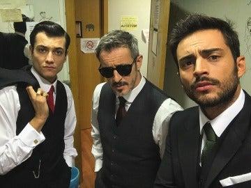 """El trío de """"Los Chunguitos"""" más peculiar de Puente Viejo"""