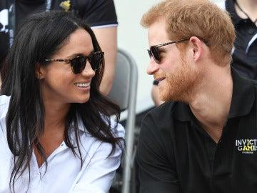 El príncipe Harry y Meghan Markle durante los Juegos Invictus
