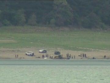 Hallan dos cadáveres en el interior del pantano de Susqueda, donde se buscaba a los dos jóvenes desaparecidos