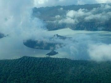 Volcán en Vanuatu