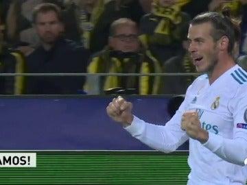 Gareth Bale volvió a su mejor versión ante el Dortmund: golazo, asistencia y susto final