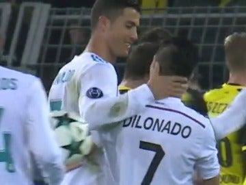 Así fue el partido de Cristiano Ronaldo contra el Dortmund