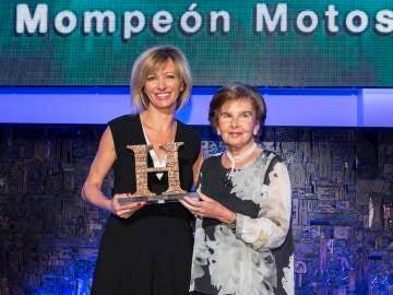 Susanna Griso recoge el premio Mompeón Motos de Periodismo