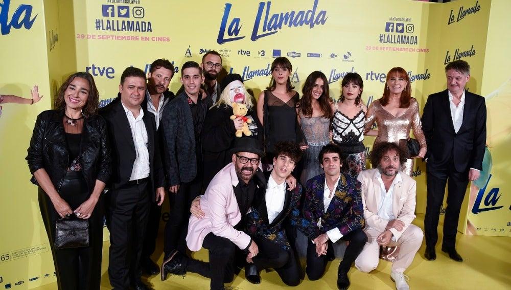La familia de 'La Llamada' presenta la película