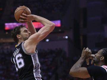 Pau Gasol en San Antonio Spurs
