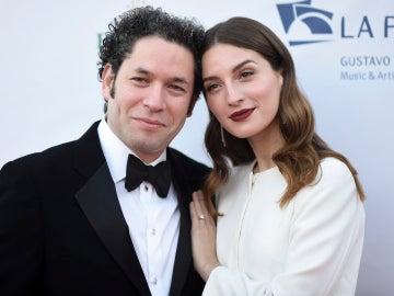María Valverde y Gustavo Dudamel