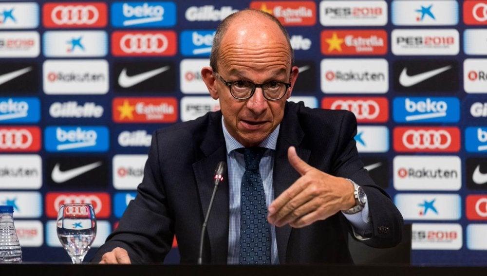 Jordi Cardoner en rueda de prensa
