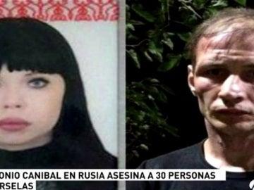 La pareja caníbal arrestada en Rusia