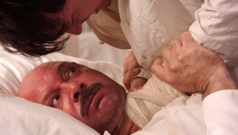 Pedro intenta asesinar al Comandante Silva