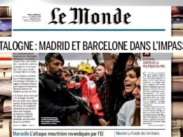 La prensa internacional critica la actuación de la Generalitat
