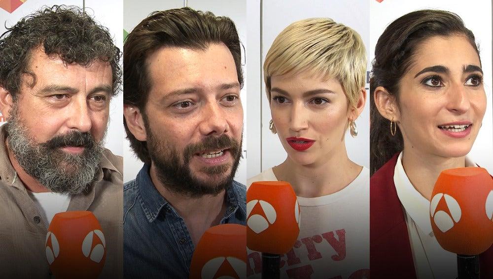Antena 3 tv los protagonistas de 39 la casa de papel 39 se vuelcan con la temporada final el - La casa de papel temporada 2 capitulo 1 ...