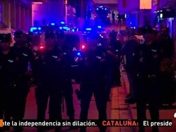 Continúan los enfrentamientos entre independentistas y gente a favor de la unidad de España
