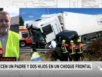 Accidente de tráfico en La Rioja