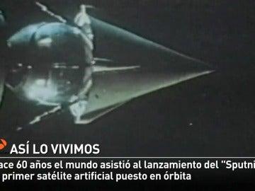 Sputnik, el primer satélite artificial, cumple 60 años