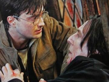 EL momento de Harry y Snape