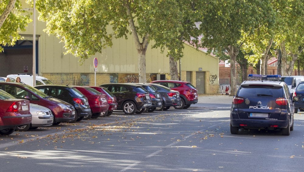 Lugar en el que se ha encontrado a la mujer asesinada en Miranda de Ebro