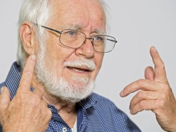 El científico suizo Jacques Dubochet