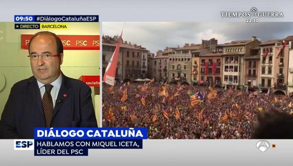 Miquel Iceta apuesta por unas elecciones inmediatas