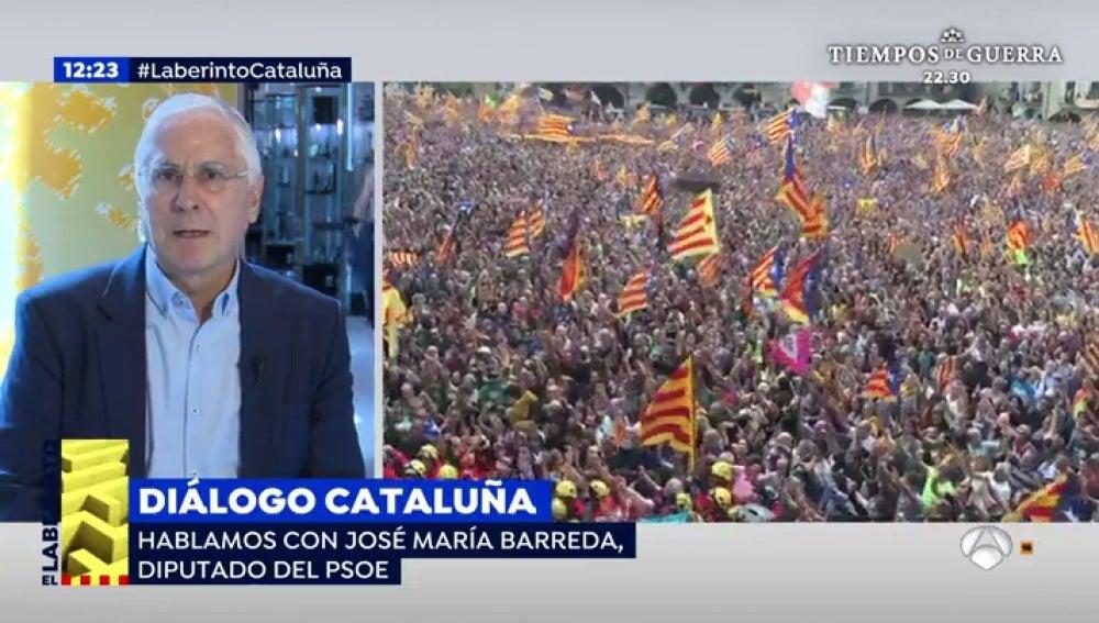 José María Barreda, diputado del PSOE