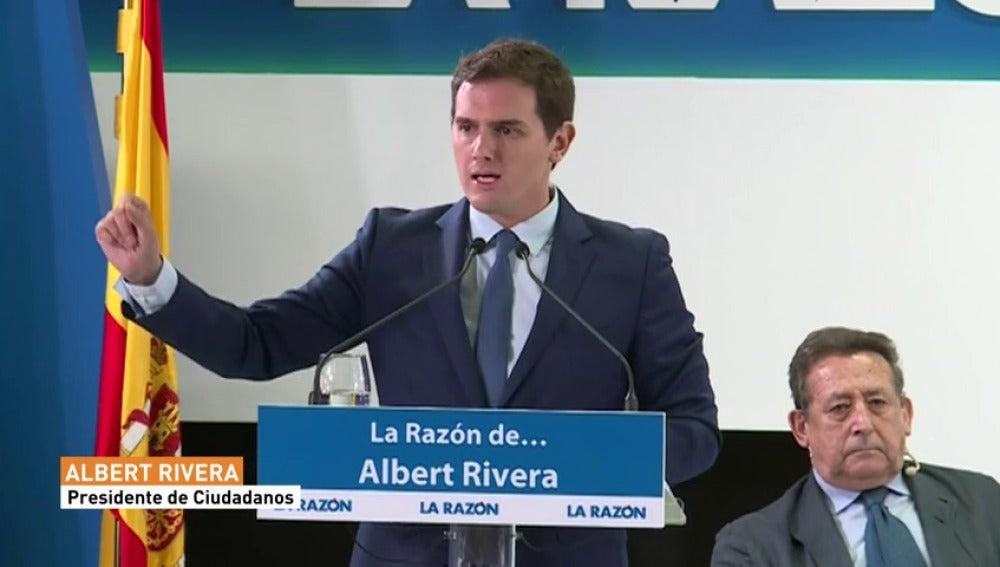 Albert Rivera urge a Mariano Rajoy par ala aplicación del artículo 155