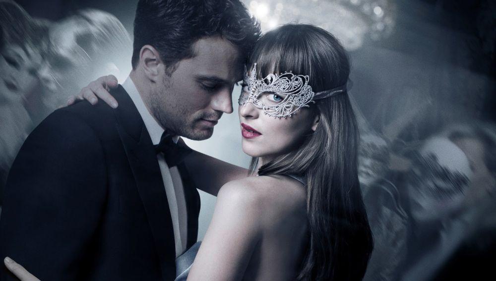 Christian Grey y Anastasia Steele en 'Cincuenta sombras liberadas'