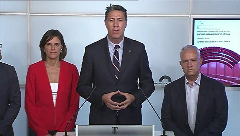 "Societat Civil Catalana convoca a una manifestación bajo el lema ""Basta,recuperemos las sensatez"""