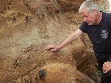 Explosivo de la Segunda Guerra Mundial encontrado a principios de septiembre en Frankfurt