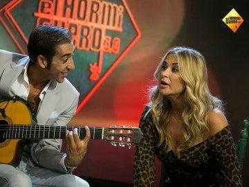 Anastacia se atreve a cantar flamenco en directo en 'El Hormiguero 3.0'
