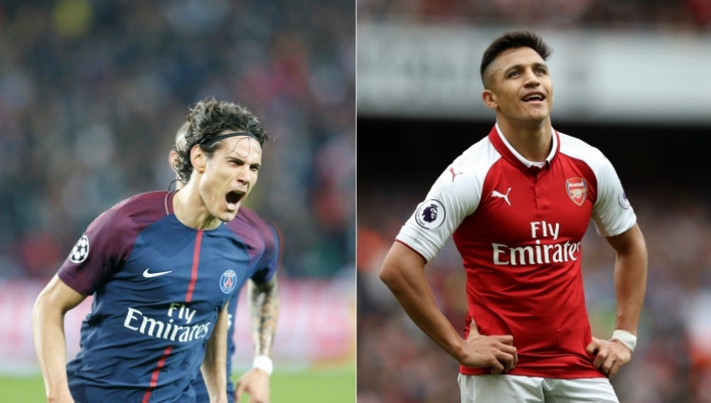 Cavani y Alexis, implicados en el nuevo plan del PSG para verano