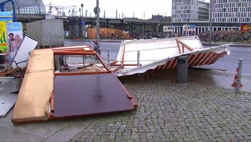 Un fuerte temporal en Alemania deja cuatro muertos a su paso