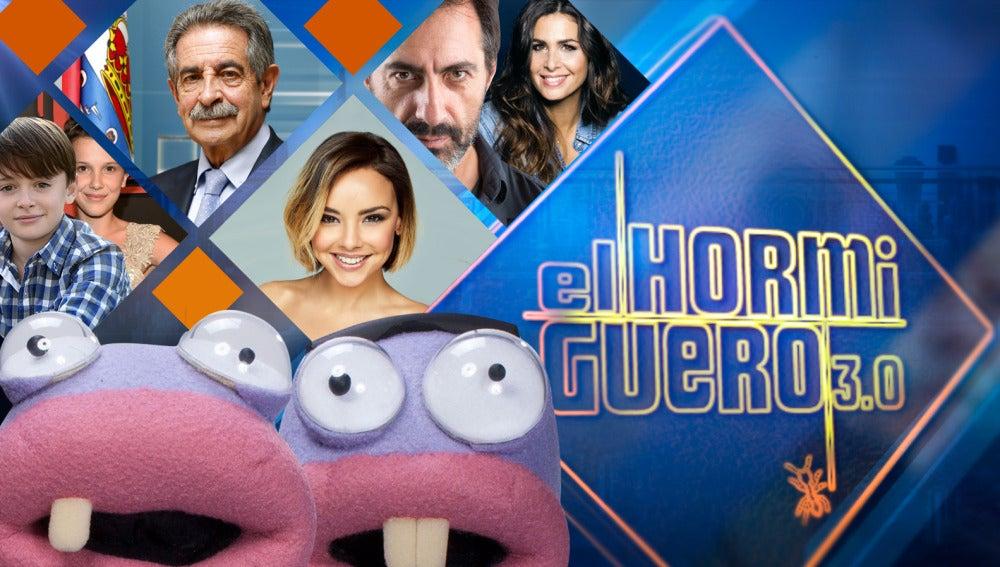 Millie Bobby Brown y Noah Schnapp, Revilla, Chenoa y Juan del Val y Nuria Roca, invitados estrella de 'El Hormiguero 3.0'