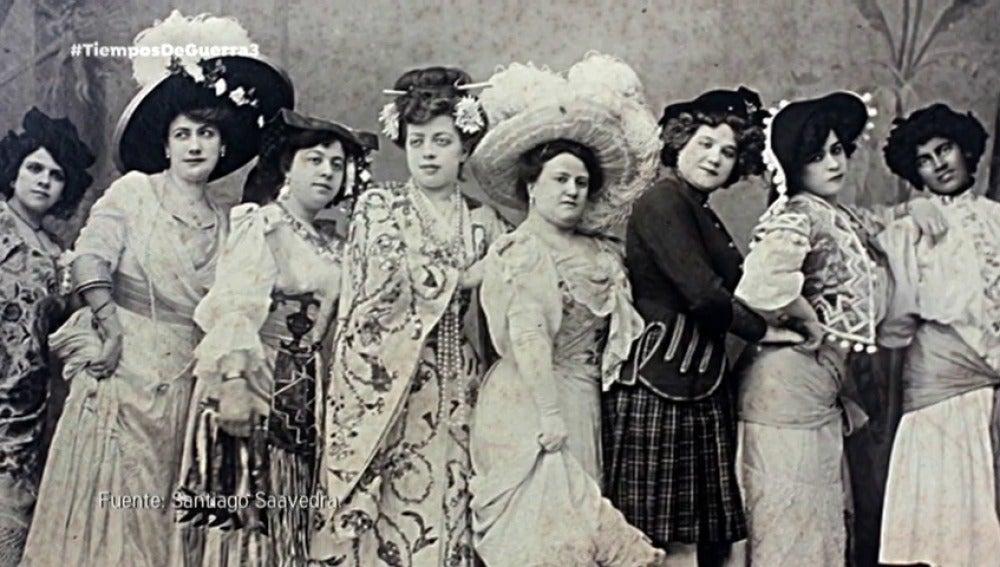 El papel de la mujer en 1921, supeditada al hombre