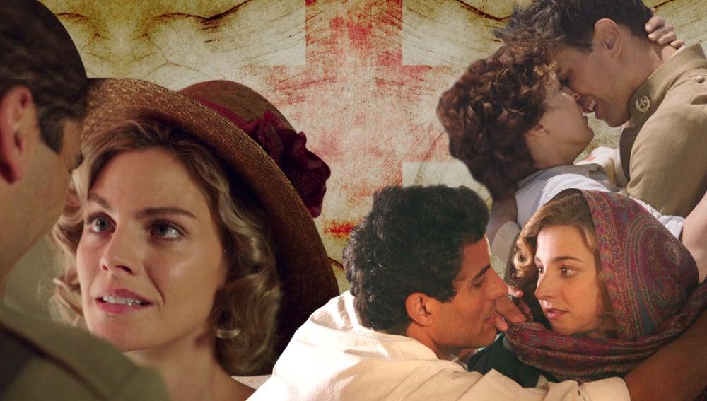 Las historias de amor que conquistan en 'Tiempos de Guerra'