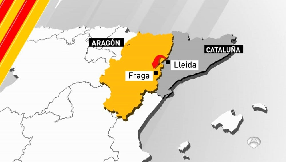 Movimiento de cuentas corrientes de Cataluña a Aragón