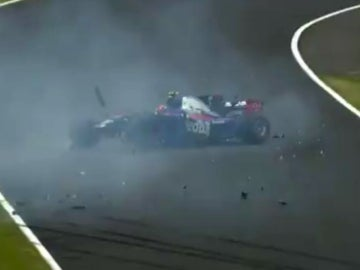 Accidente de Carlos Sainz