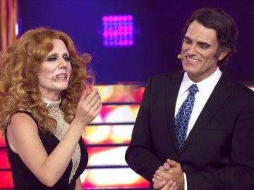 Diana Navarro se gana al público de 'Tu cara me suena' haciendo suyo el famoso 'Parole, parole'