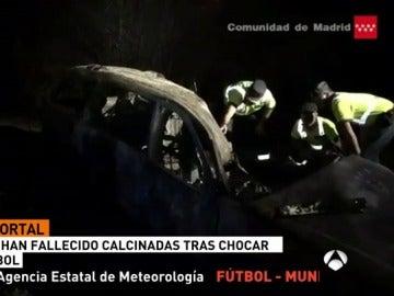 Mueren dos personas en un accidente en Guadalix