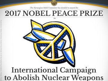 Campaña Internacional para Abolir las Armas Nucleares, Nobel de la Paz