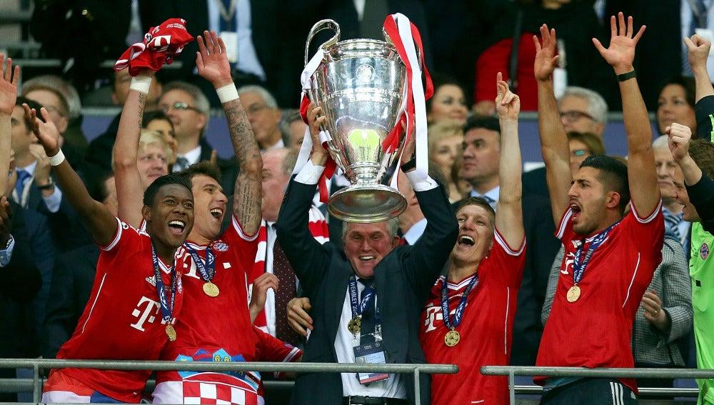 Heynckes levanta la Champions