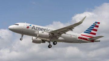 Un Airbus de American Airlines